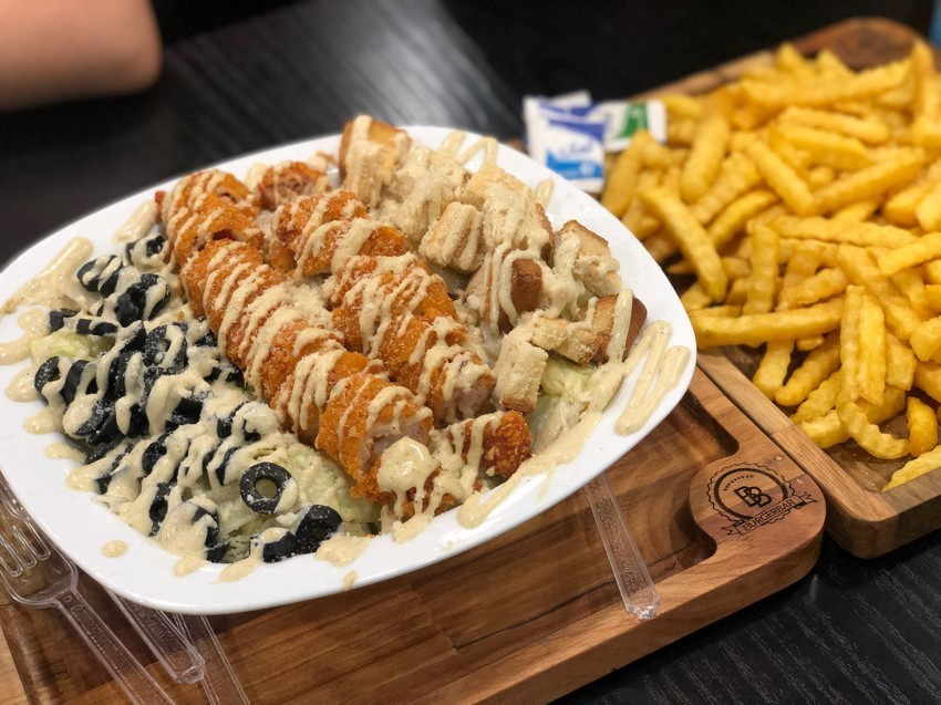Burger Bar Fast Food
