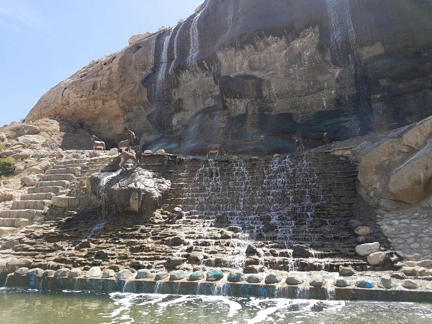 Artificial Waterfall Siraf