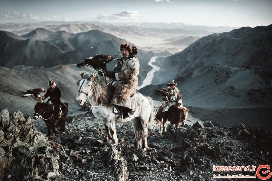 شکارچیان عقاب طلایی قزاقستان