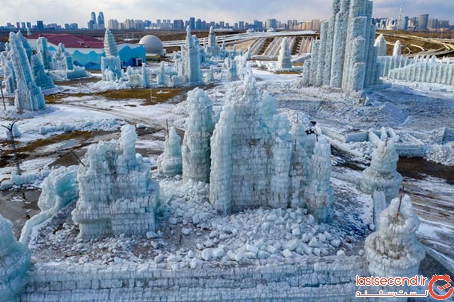 بزرگ ترین فستیوال برف و یخ 2019 چین در حال آب شدن است
