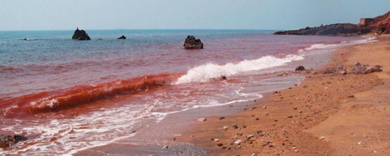 ساحل سرخ هرمز(معدن خاک سرخ)
