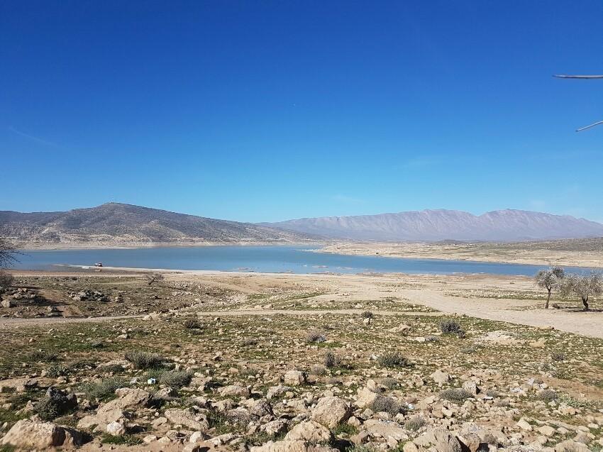 دریاچه سد تنگاب