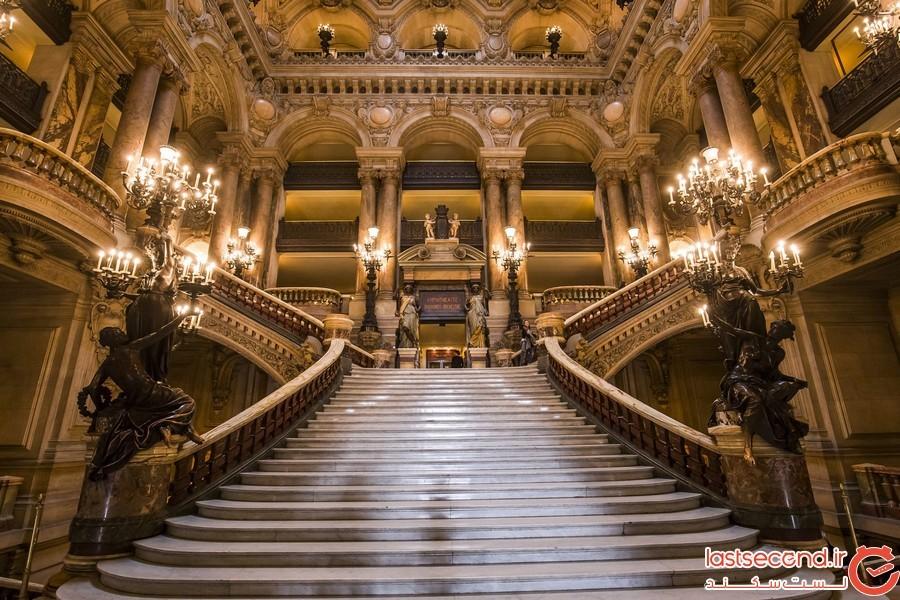 پله های عجیب پاریس