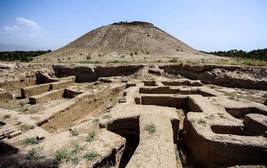 ازبکی، محوطه باستانی هزاره اول پیش از میلاد نظر آباد