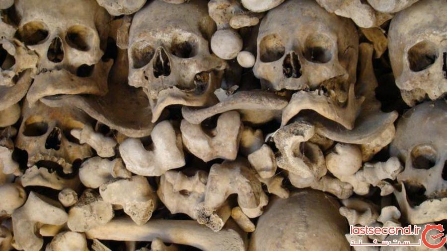 این ۵ کلیسای ترسناک با استخوانهای انسان تزئین شدهاند