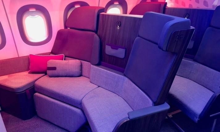 پردهبرداری شرکت هواپیمایی ایرباس از صندلیهای چرخان و راحت درجه بیزینس کلاس