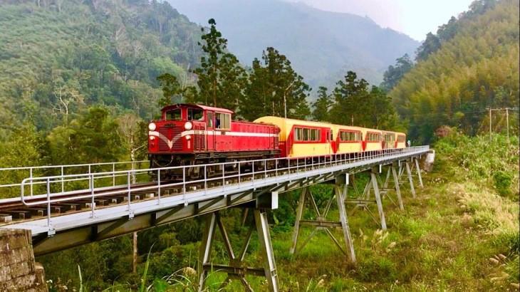 راهآهن کوهستانی 106 ساله مبهوتکننده تایوان