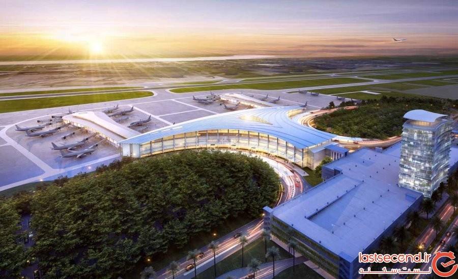 فرودگاه بینالمللی Louis Armstrong نیو اورلئان، نیو اورلئان ایالات متحده آمریکا