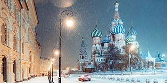 هفت شب برفی در روسیه(زمستان 1397 در مسکو و سن پترزبورگ)