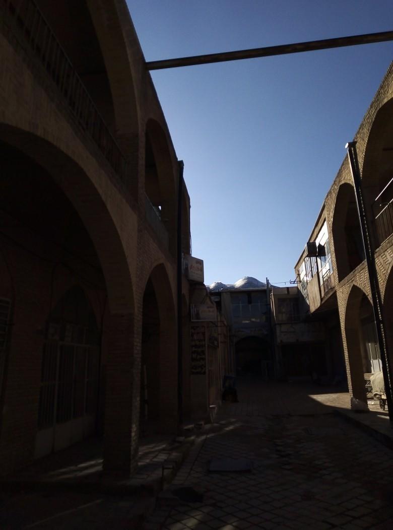 سرای فلسطین بازار تاریخی اراک