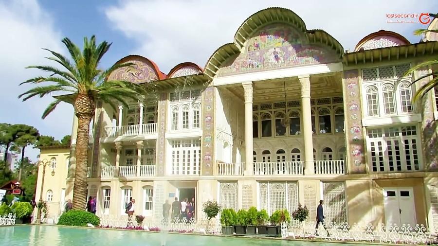 بهار دیدنی شیراز در باغ ارم