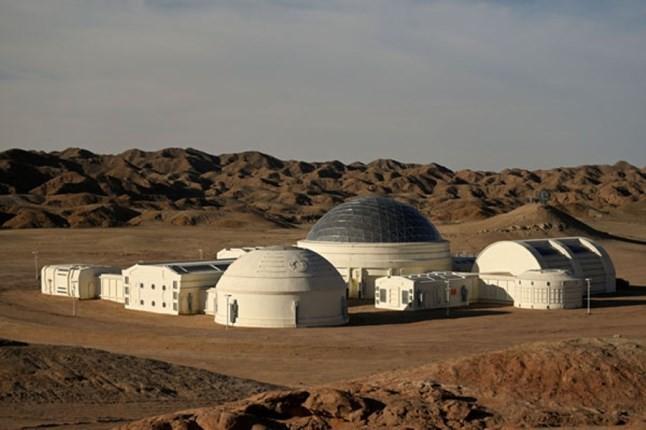 حضور مریخ در صحرای گُبی