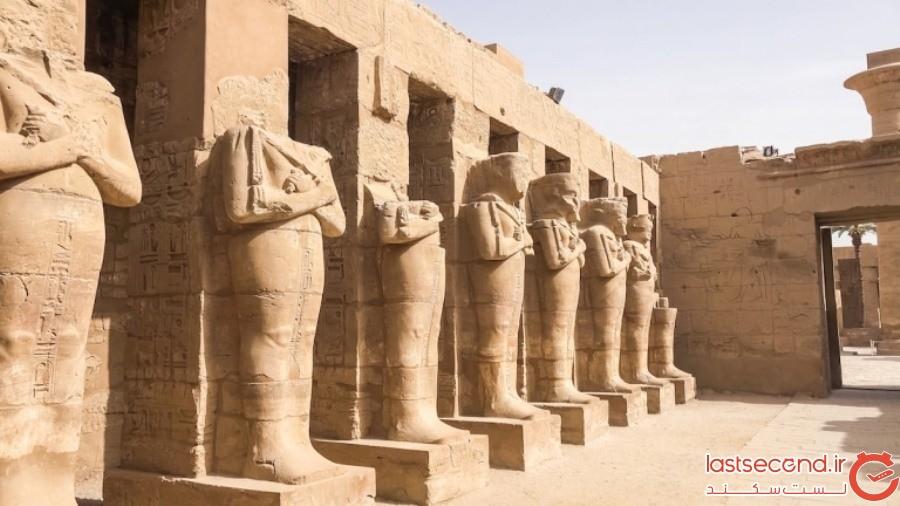 Luxor Temple (لاکژر تمپل)- مصر
