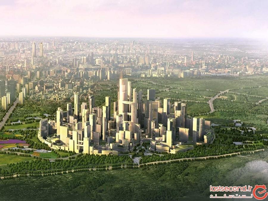 ظهور اکو شهرهای چین