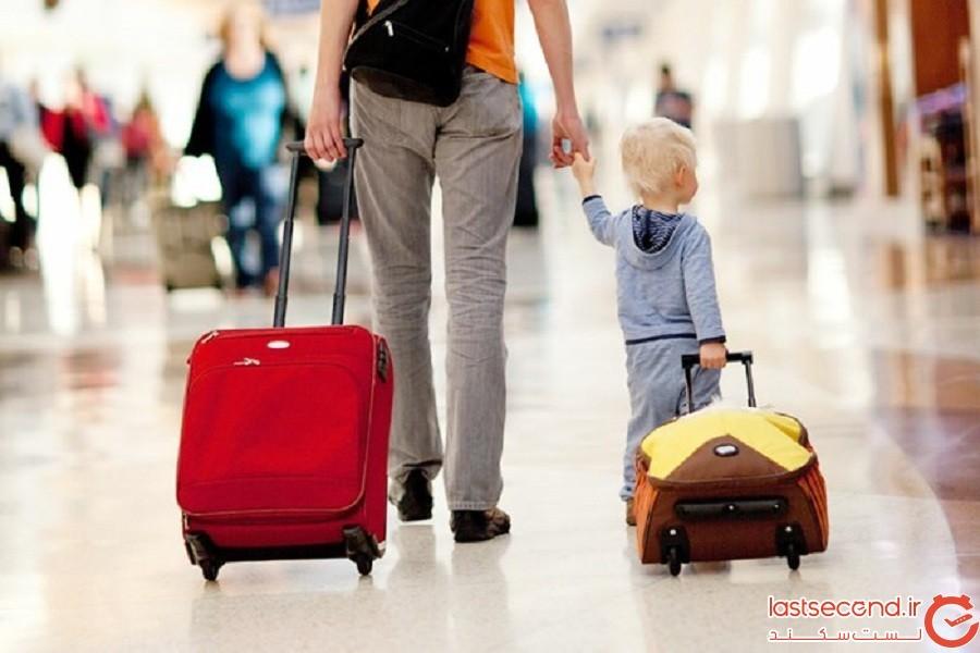 نحوه سفر با کودکان در ردههای مختلف سنی