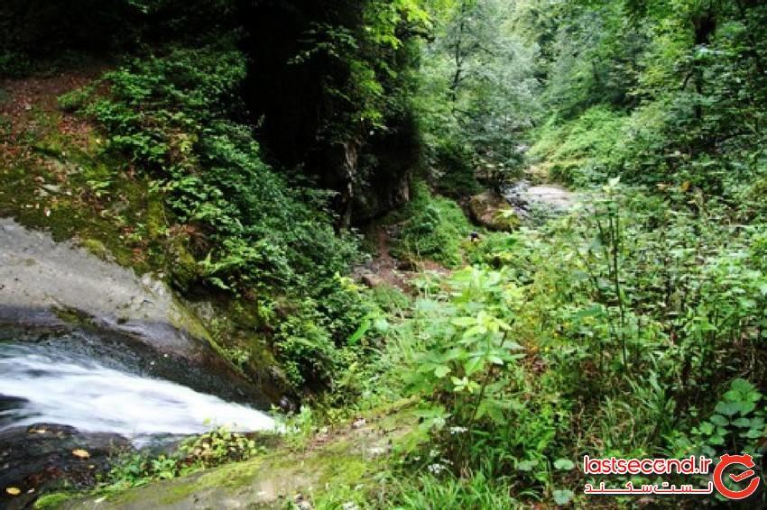 آبشار زمرد گیلان