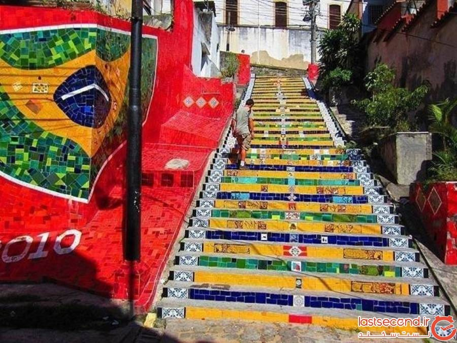 30 پلکان زیبا در سراسر جهان