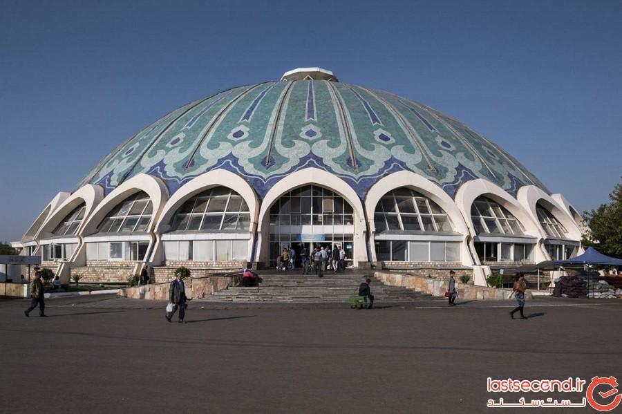 مشاهده معماری شوروی منحصربهفرد آسیا با تمام شکوه بیرحمانه آن