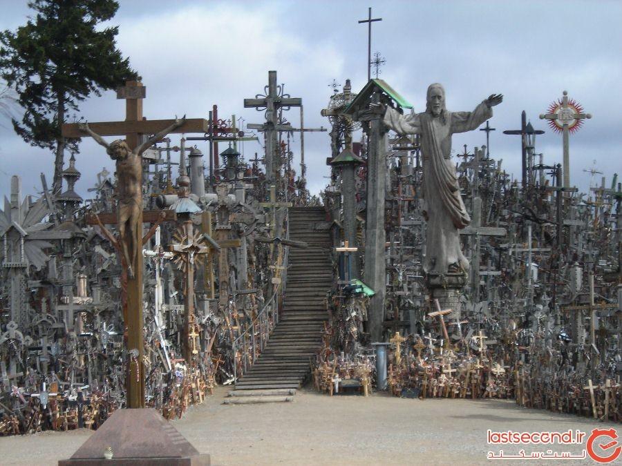 تپه صلیبها، لتونی