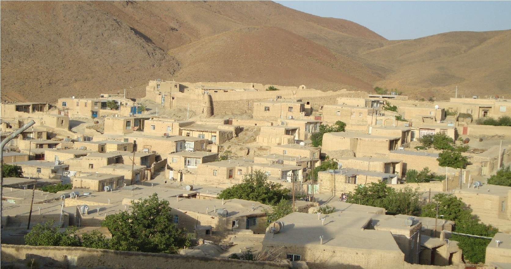 Goldareh Village