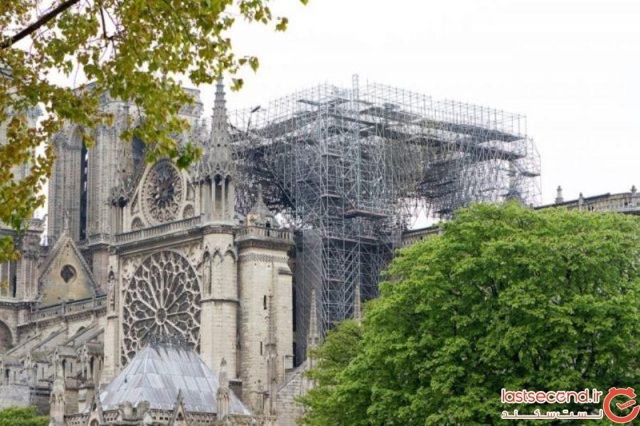 بناهای تاریخی که پس از آتشسوزیهای ویرانگر، بازسازی شدهاند