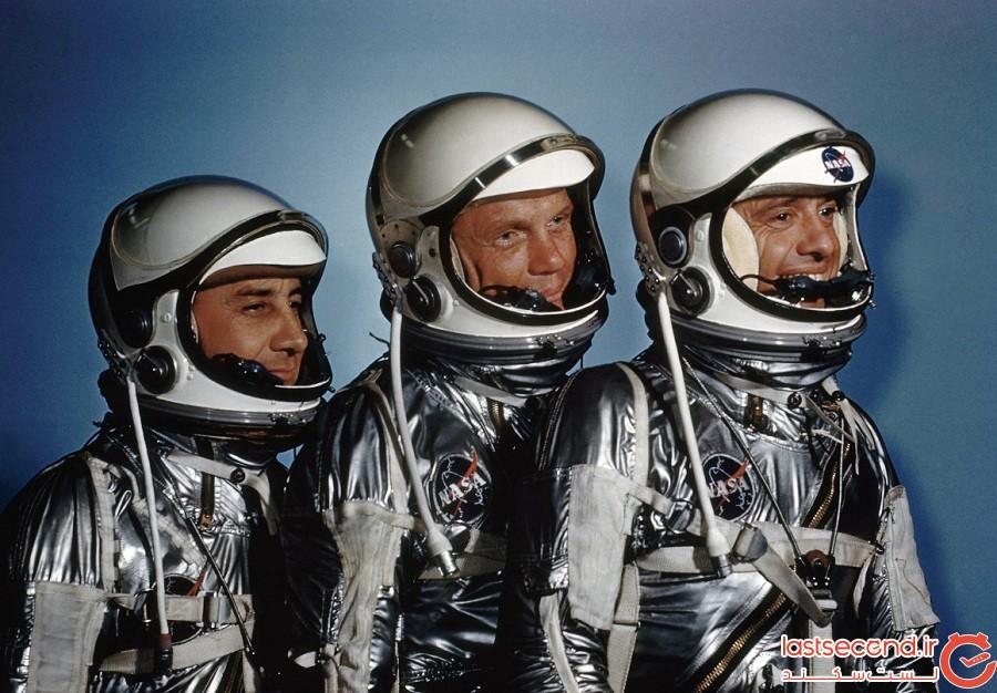 فضانوردی که این عکس را گرفته است، تنها انسان موجود روی ماه است که در تصویر نیست