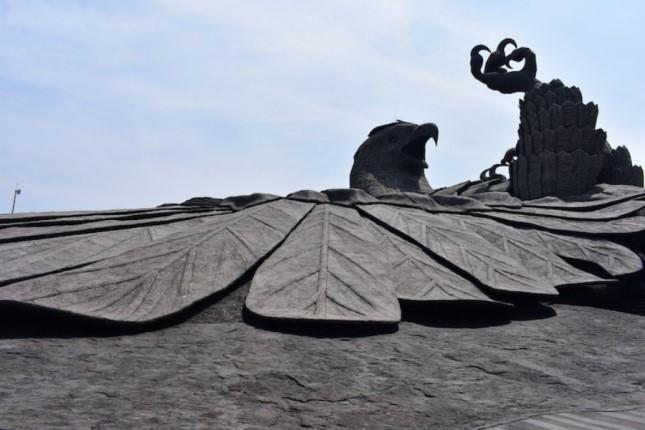 جاتایو، بزرگترین مجسمه پرنده جهان در هند