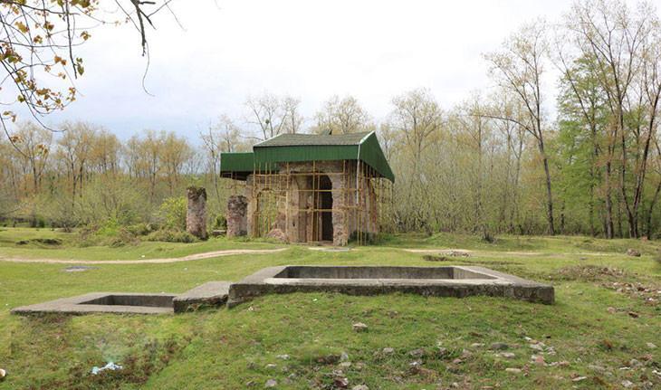 اسپیمزگت، مسجدی با قدمتی هزار ساله در گیلان