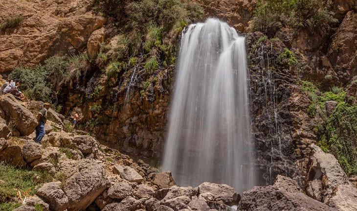 آبشار چکان، جلوه ی زیبایی های بی پایان استان لرستان