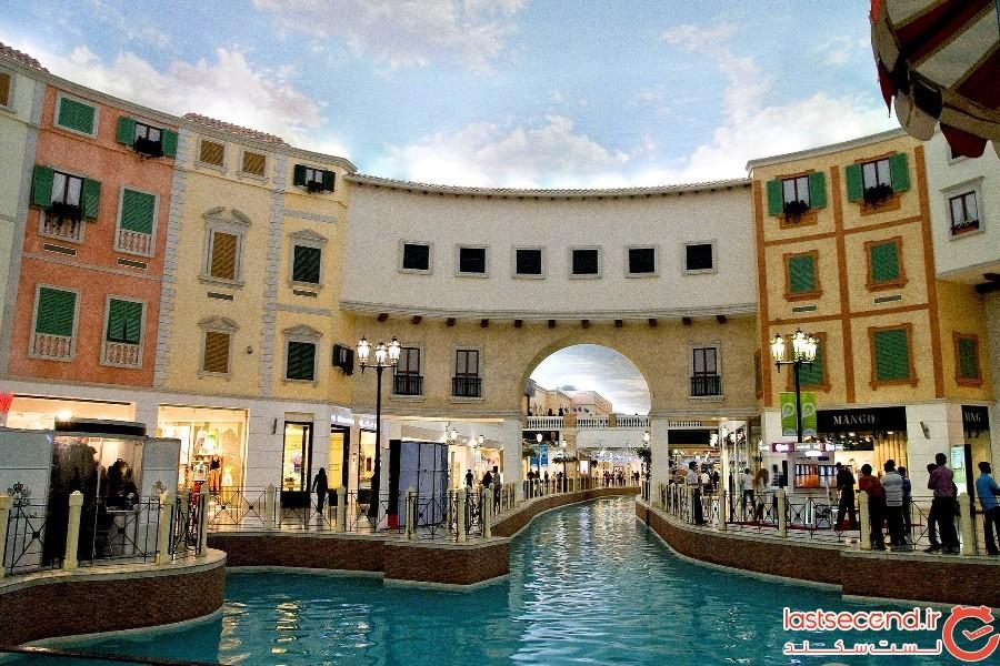 مرکز خرید ویلاجیو (Villagio Mall) در دوحهی قطر