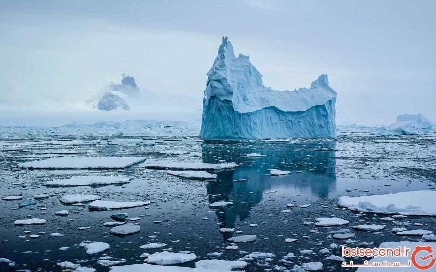 10 نکته جالب درباره قاره قطب جنوب (آنتراکتیکا)