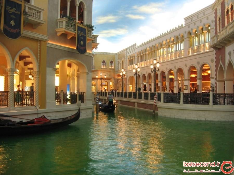 مرکز خرید گراند کانال (Grand Canal) در لاسوگاس امریکا