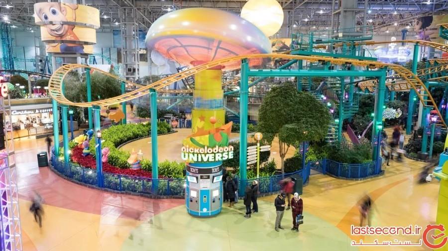 مرکز خرید آمریکا مال (Mall of America) در ایلات متحده آمریکا