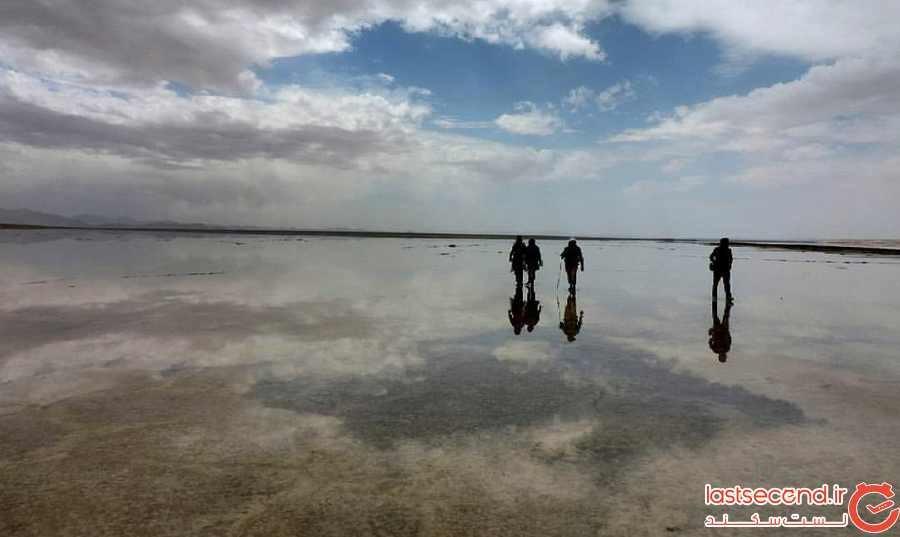 دریاچه مخرگه، آینه طبیعی ایران