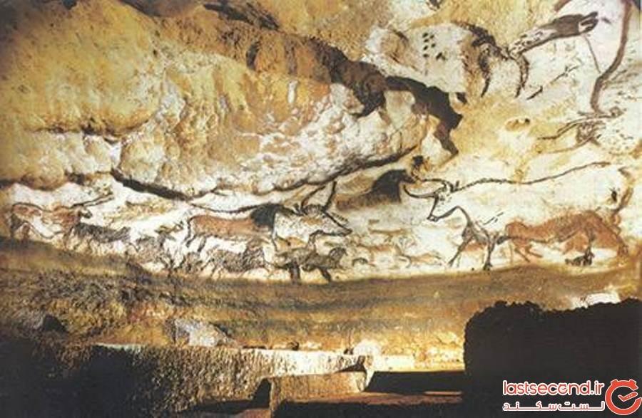 غارهای لاسو فرانسه (Lascaux Caves)