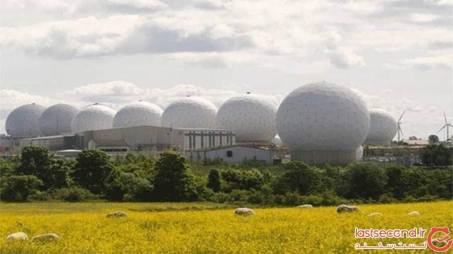 مقر نیروی هوایی سلطنتی Menwith Hill، Harrogate یورکشایر شمالی