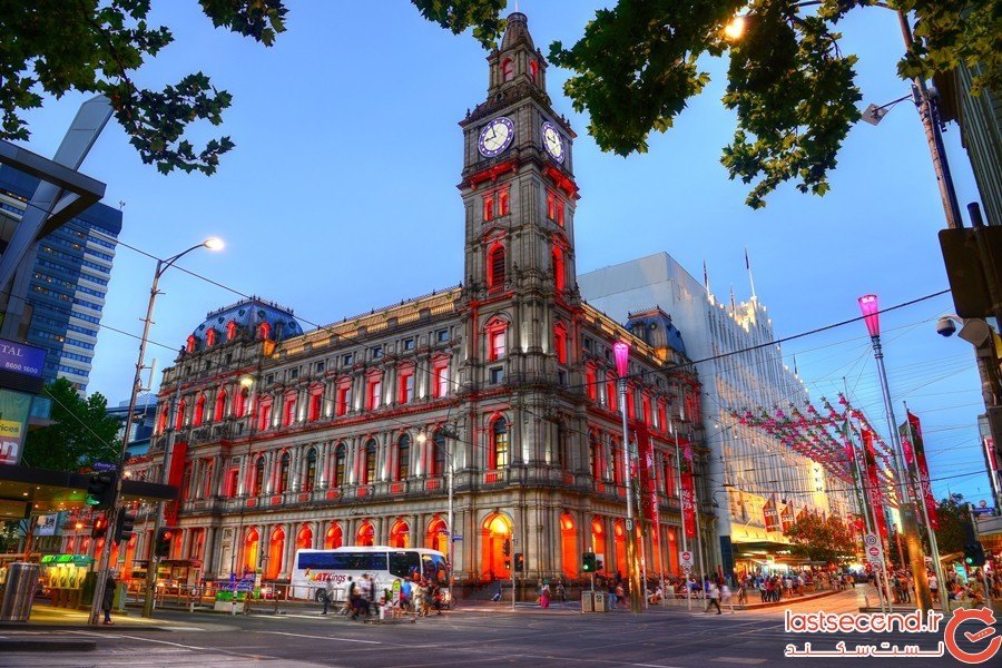 مرکز خرید GPO ملبورن (Melbourne's GPO) در استرالیا