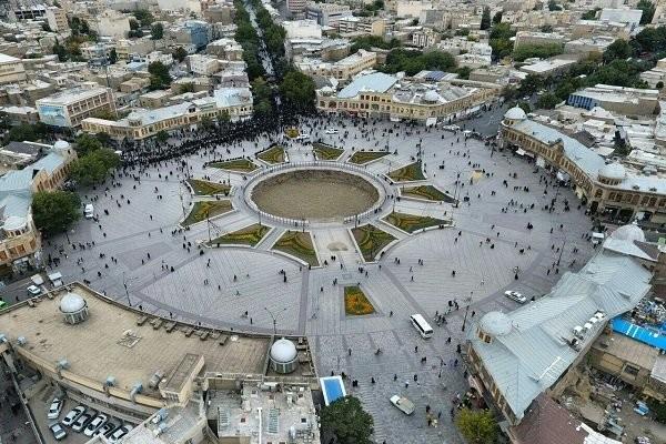 Hamedan Imam Khomeini square