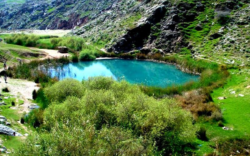 دریاچه دوقلوی سیاه گاو، اعجاز طبیعت آبدانان