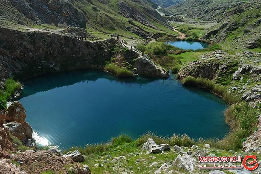 دریاچه دوقلوی سیاه گاو