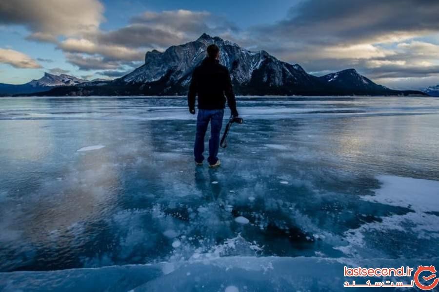 دریاچه آبراهام - کانادا