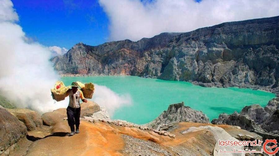 کوه ایجِن، بانیووانگی - اندونزی
