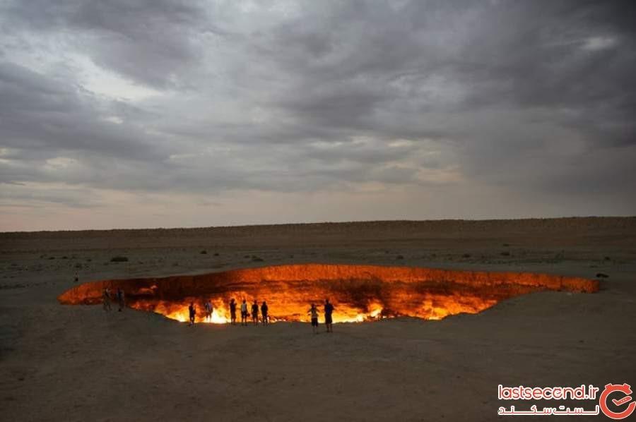 دروازه جهنم - شمال ترکمنستان