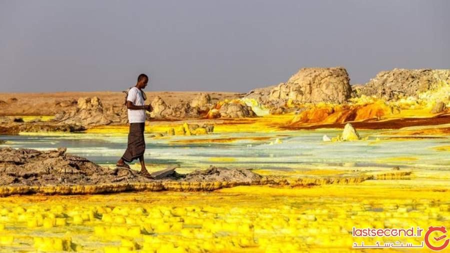 آتشفشان دالول - اتیوپی