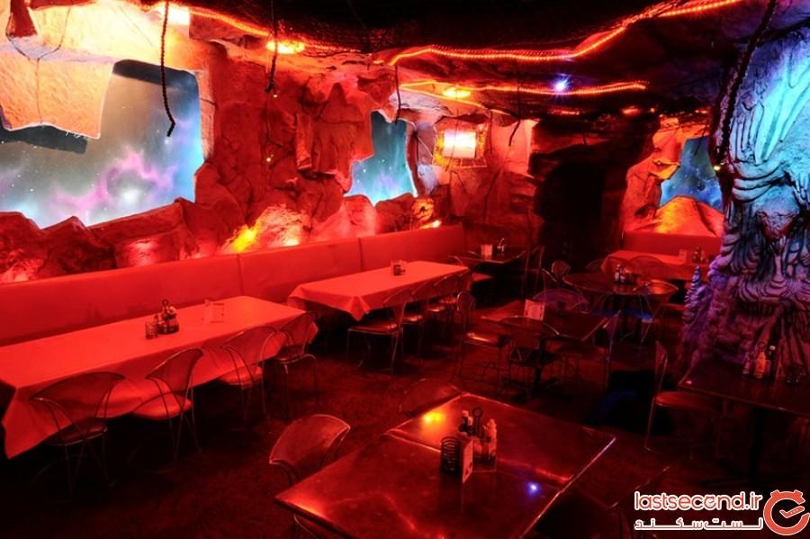 رستوران مریخ - نیویورک