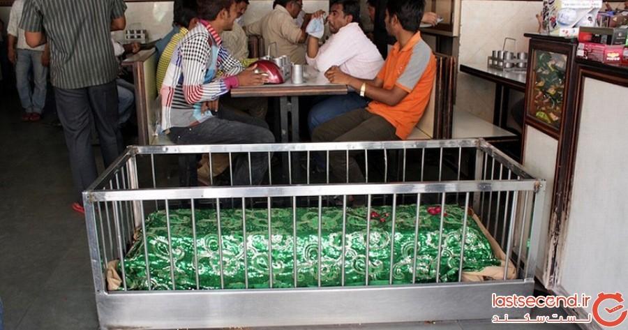 رستوران گورستان - احمدآباد، هندوستان