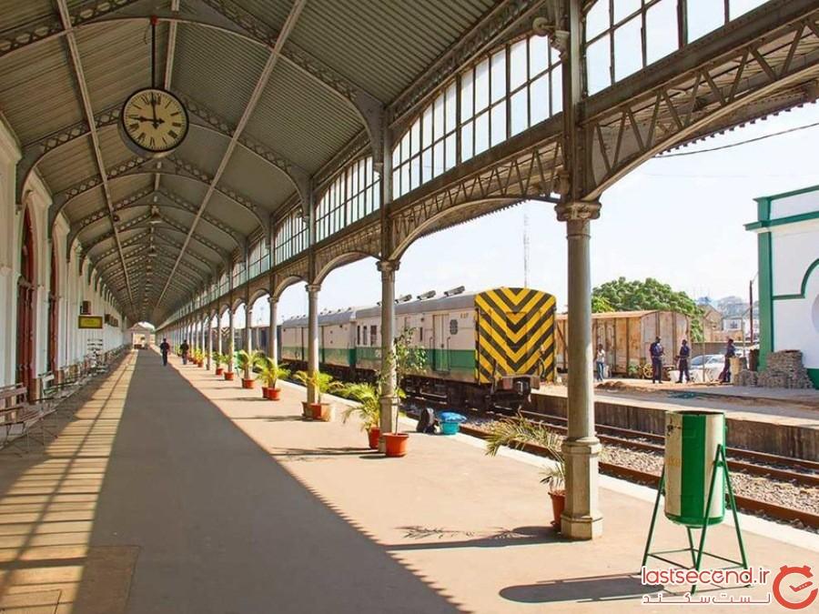 ایستگاه خط آهن موکامبیک ((caminho de Ferro de Mocambique- موزامبیک