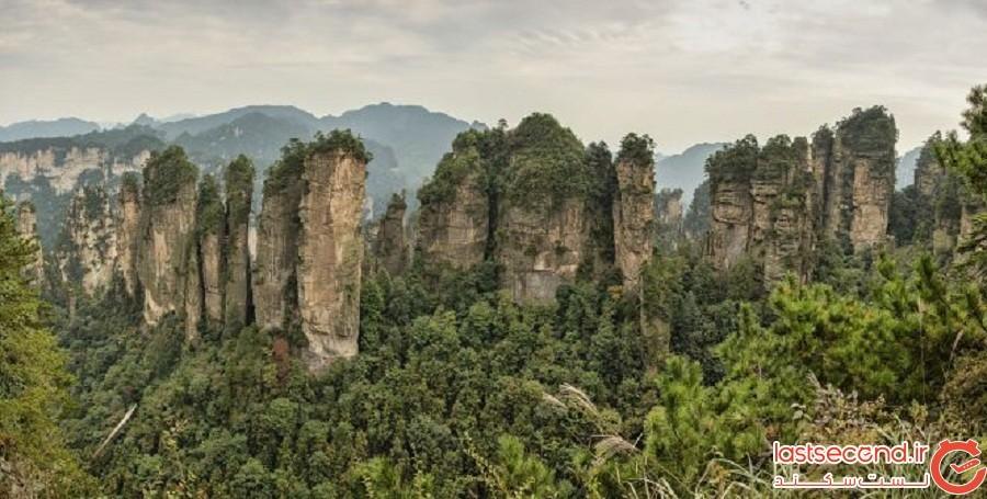 کوهستان تیانزی (چین)