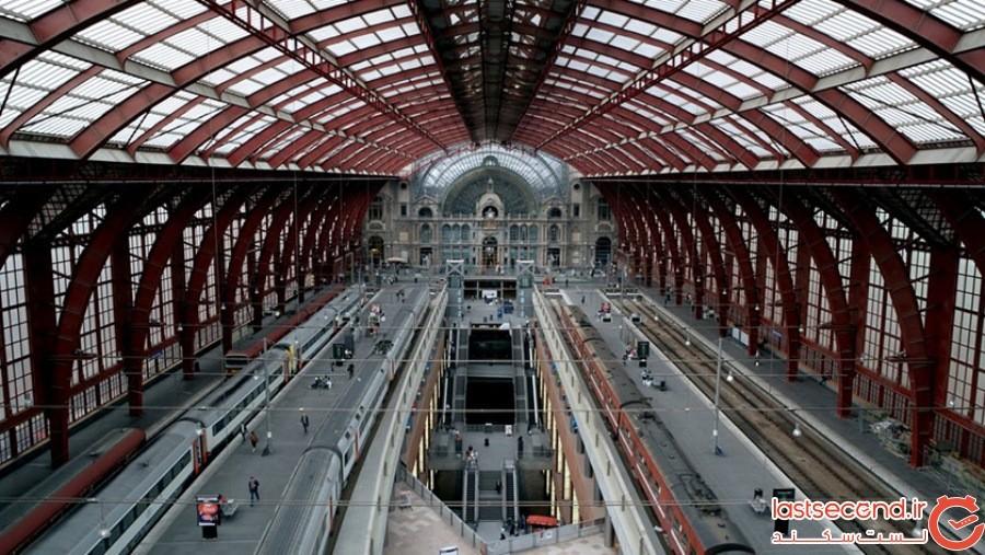 ایستگاه مرکزی آنتوِرپ - بلژیک