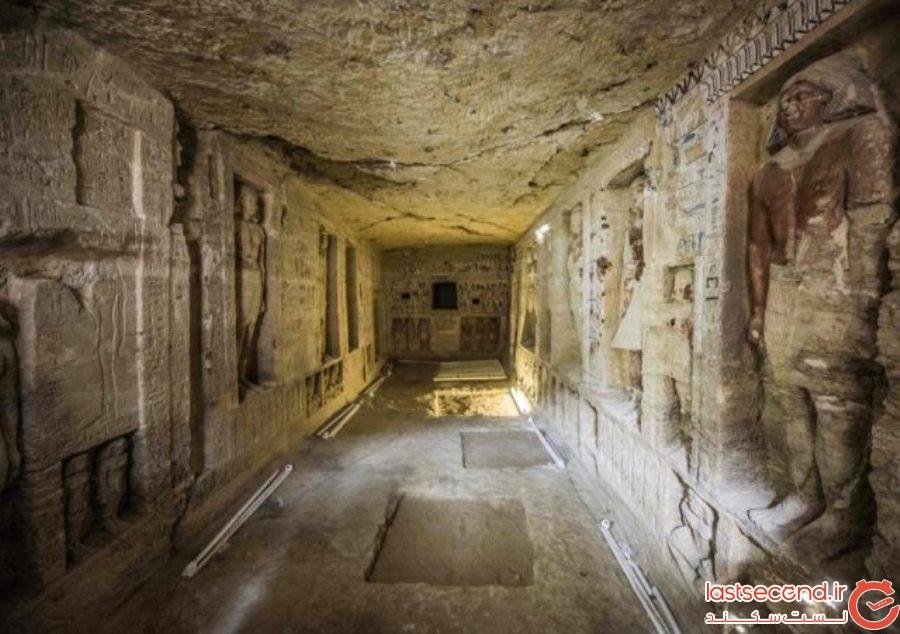 گورهای 4500 ساله باورنکردنی که در هرم جیزه پیدا شده است